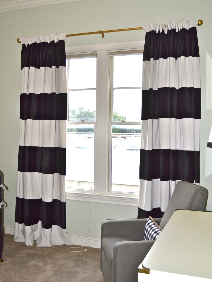 Striped Living Room Curtains Black And White Striped Curtains Living Room Laptoptabletsus